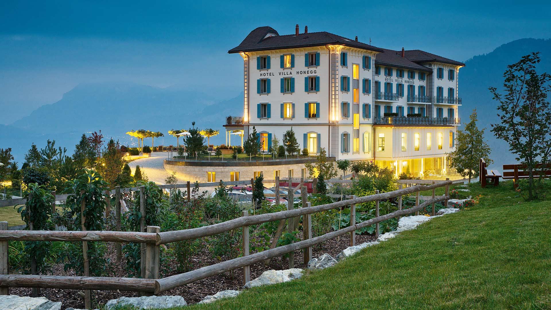 Hotel Villa Honegg destiné hideaways hotels
